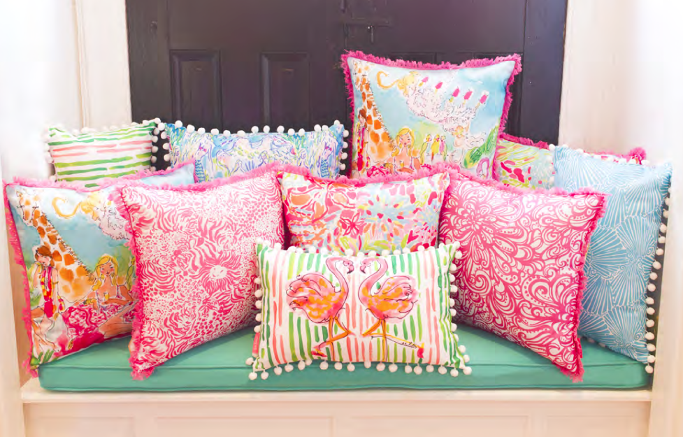 Lilly Pulitzer Home Decor Collection – Summer in Newport